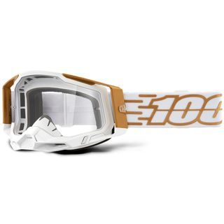 100% Racecraft2 Goggle Mayfield Clear Lens