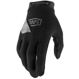 100% Ridecamp Black Youth Gloves