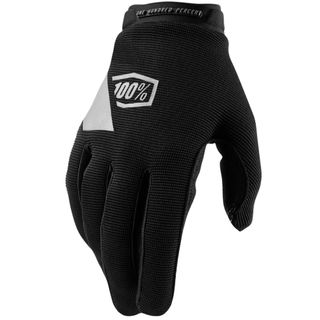 100% Ridecamp Black Womens Gloves