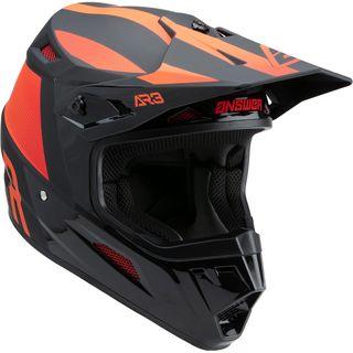 Answer 2022 AR-3 Helmet Phantom Black/Red