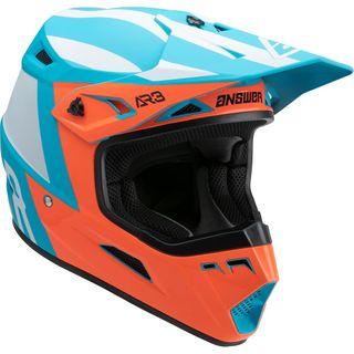Answer 2022 AR-3 Helmet Phantom Flo Red/Astana Blue