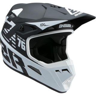 Answer 2022 AR-1 Helmet Youth Bold Black/White