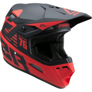 Answer 2022 AR-1 Helmet Youth Bold Black/Red