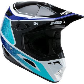 Answer 2022 AR-1 Helmet Youth Vivid Reflex Blue/Astana Blue