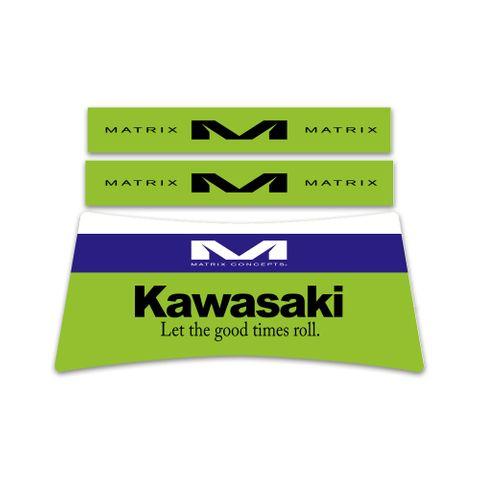 Matrix A2 Stand Custom ID Graphics Retro Kawasaki