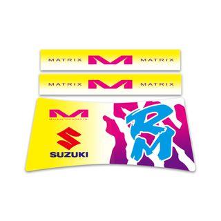Matrix A2 Stand Custom ID Graphics Retro Suzuki