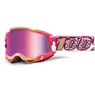 100% Accuri2 Goggle Donut Pink Mirror Lens