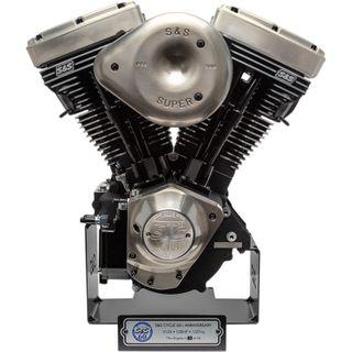 S&S Cycle 60th Anniversary V124 LE Long Block Engine Harley Davidson