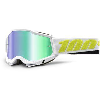 100% Accuri2 Goggle Peyote Green Mirror Lens