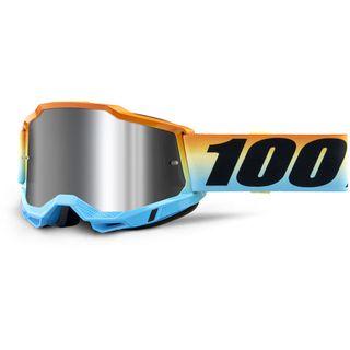 100% Accuri2 Goggle Sunset Flash Silver Lens