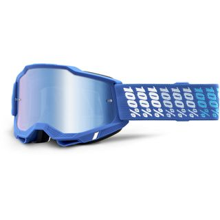 100% Accuri2 Goggle Yarger Blue Mirror Lens