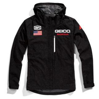 100% Geico Honda Kappa Hooded Jacket