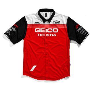 100% Geico Honda Blitz Pit Team Shirt
