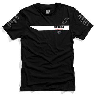 100% Geico Honda Iconoclast Black T-Shirt
