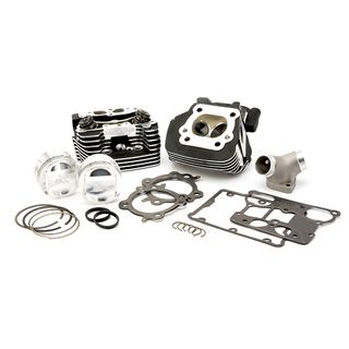 "Delkron Performance Head Hop Up kit for 95"" Harley Davidson Black"