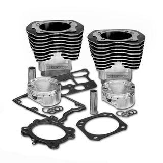 """Delkron Cylinder Harley Davidson Twin Cam 96 Engine 107""""cu 4.375"""" Stroke"""
