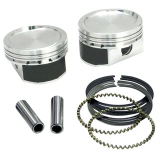 "S&S 1200cc Conversion Piston Kit for 1986-'16 HD Sportster Models - 3-1/2"" STD Bore"