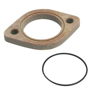 "S&S 1 7/8"" X 3/8"" Manifold Insulator Block with O-Ring for Super E Carburetors"