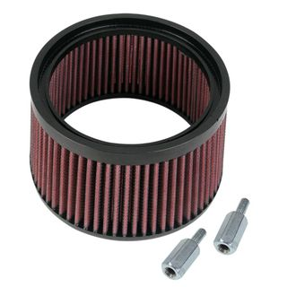 "S&S 1"" Taller Pleated Stealth Air Filter Kit"