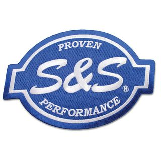 """S&S Cycle Logo 6"""" Patch"""