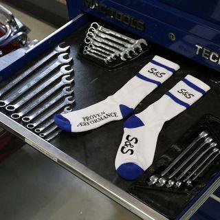 S&S Race Socks - White