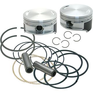 """S&S 106"""" Forged Stroker Pistons for 1999-'16 HD Big Twins - Standard"""