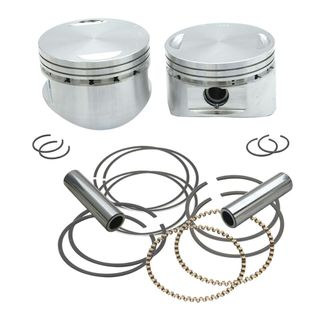 "S&S Forged 3 5/8"" Bore Piston Kits for 1984-'99 HD Big Twins 88"", 93"", & 98"" Stock Style Heads"