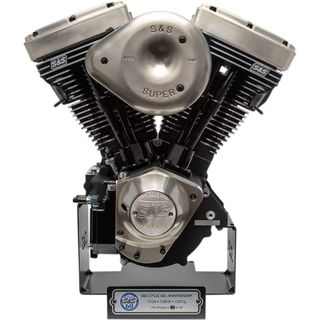 S&S Cycle 60th Anniversary V124 LE Long Block Engine Harley Davidson