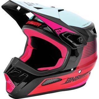 Answer 2021 Swish Youth AR-1 Helmet Berry/Air Pink/Seafoam