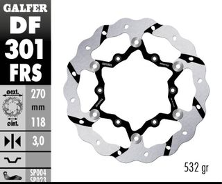DF301FRS OVERSIZE RACE ROTOR