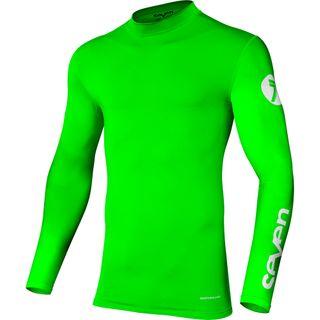Seven Zero Compression Jersey Flo Green
