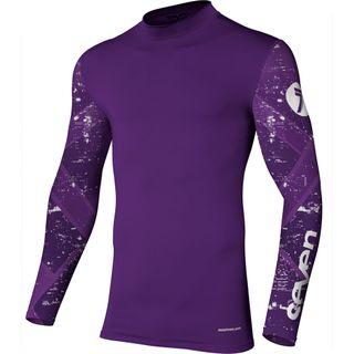 Seven Zero Ethika Compression Jersey Purple