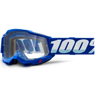 100% Accuri2 Goggle Blue Clear Lens