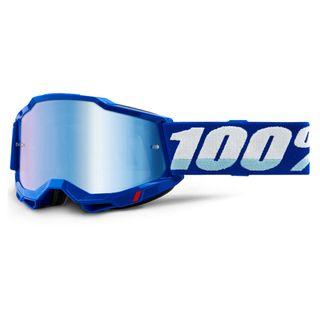 100% Accuri2 Goggle Blue Mirror Blue Lens