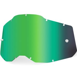 100% Accuri2 & Strata2 Youth Lens Mirror Green