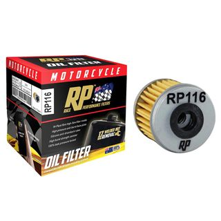 Race Performance Motorcycle Oil Filter - RP116
