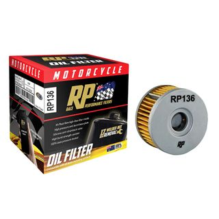 Race Performance Motorcycle Oil Filter - RP136