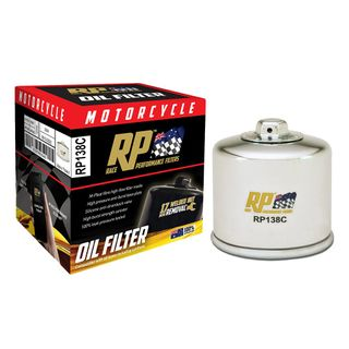 Race Performance Motorcycle Oil Filter - RP138C