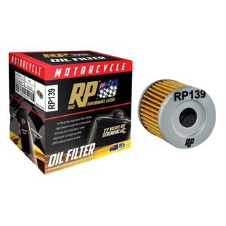 Race Performance Motorcycle Oil Filter - RP139