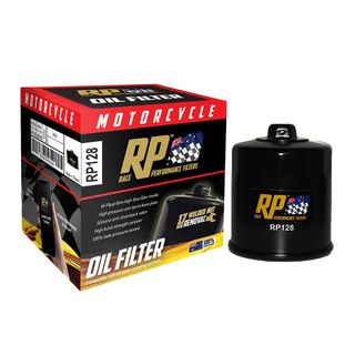 Race Performance Motorcycle Oil Filter - RP128