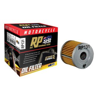 Race Performance Motorcycle Oil Filter - RP131