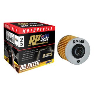 Race Performance Motorcycle Oil Filter - RP145