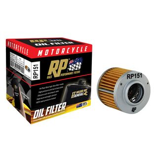 Race Performance Motorcycle Oil Filter - RP151