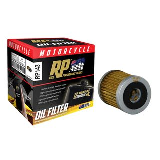 Race Performance Motorcycle Oil Filter - RP143