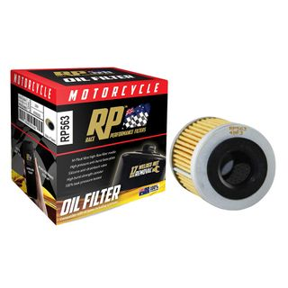 Race Performance Motorcycle Oil Filter - RP563