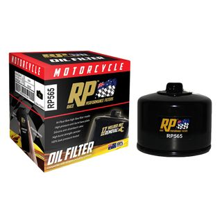 Race Performance Motorcycle Oil Filter - RP565