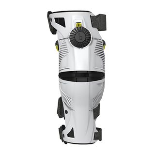 Mobius X8 Knee Brace White/Acid Yellow