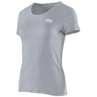 100% Womens Sprint Tech T-Shirt Grey