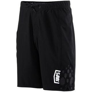 100% Mens Black Draft Athletic Short
