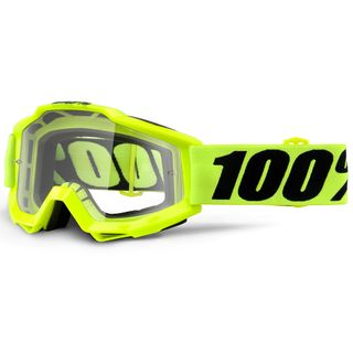100% Accuri Goggle Yellow Clear Lens